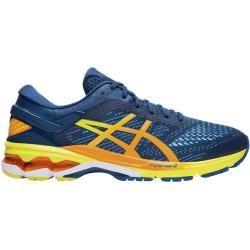 Photo of Asics men's running shoes Gel-Kayano? 26, size 42 in blue / yellow / orange, size 42 in blue / yellow / orange A