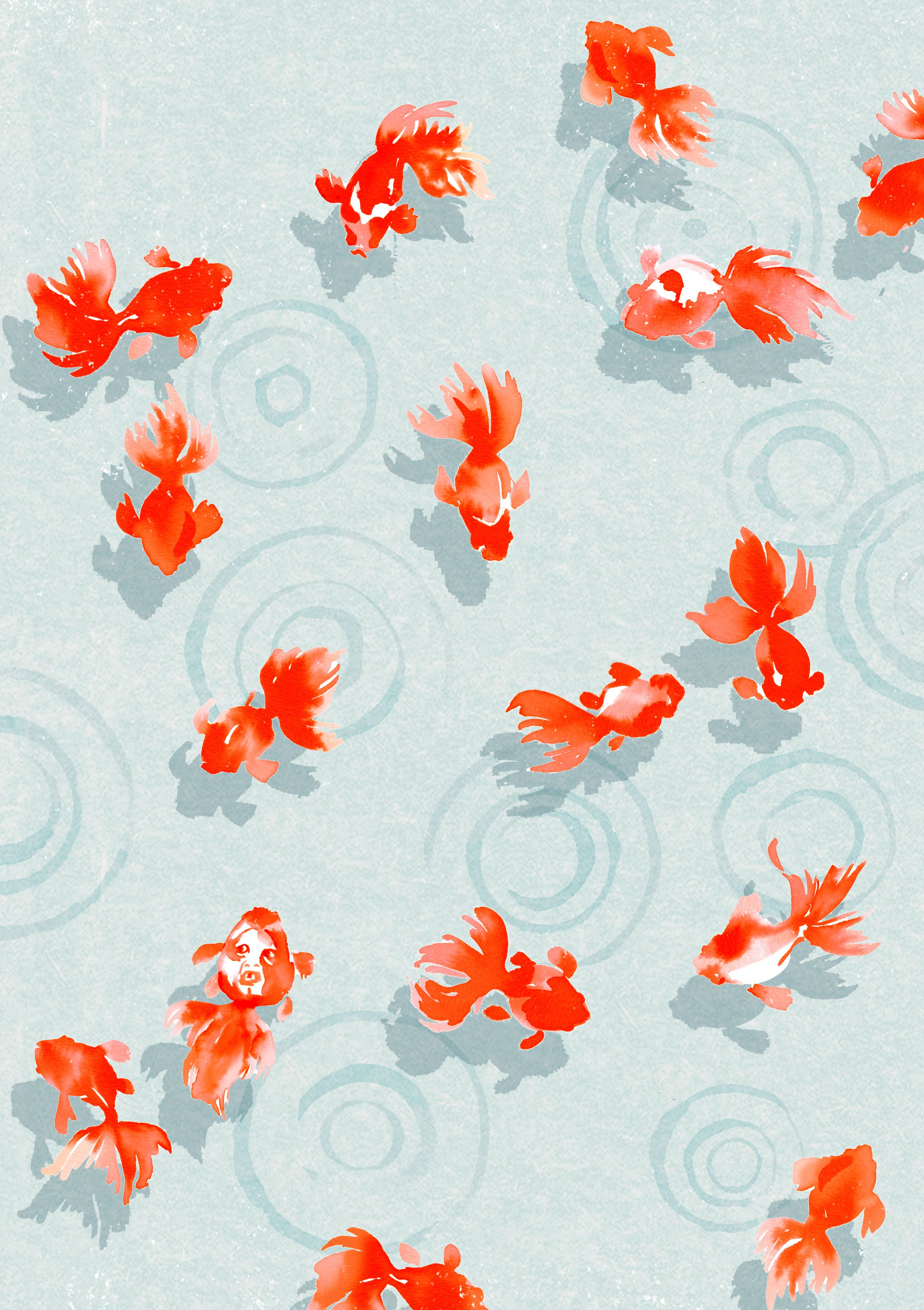 Pin By Amy Glamser On Happy In 2019 Fish Art Pond
