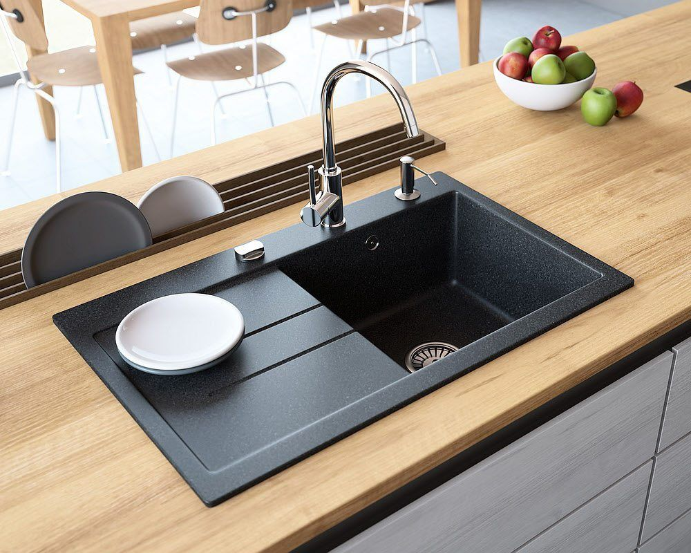 Premium Quality Composite Kitchen Sinks Lavello Sinks Granite Kitchen Sinks Composite Kitchen Sinks Durable Kitchen Sink