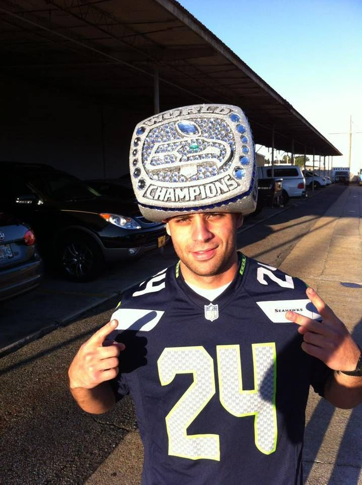 ebae1aaaa Seahawks super bowl ring hat