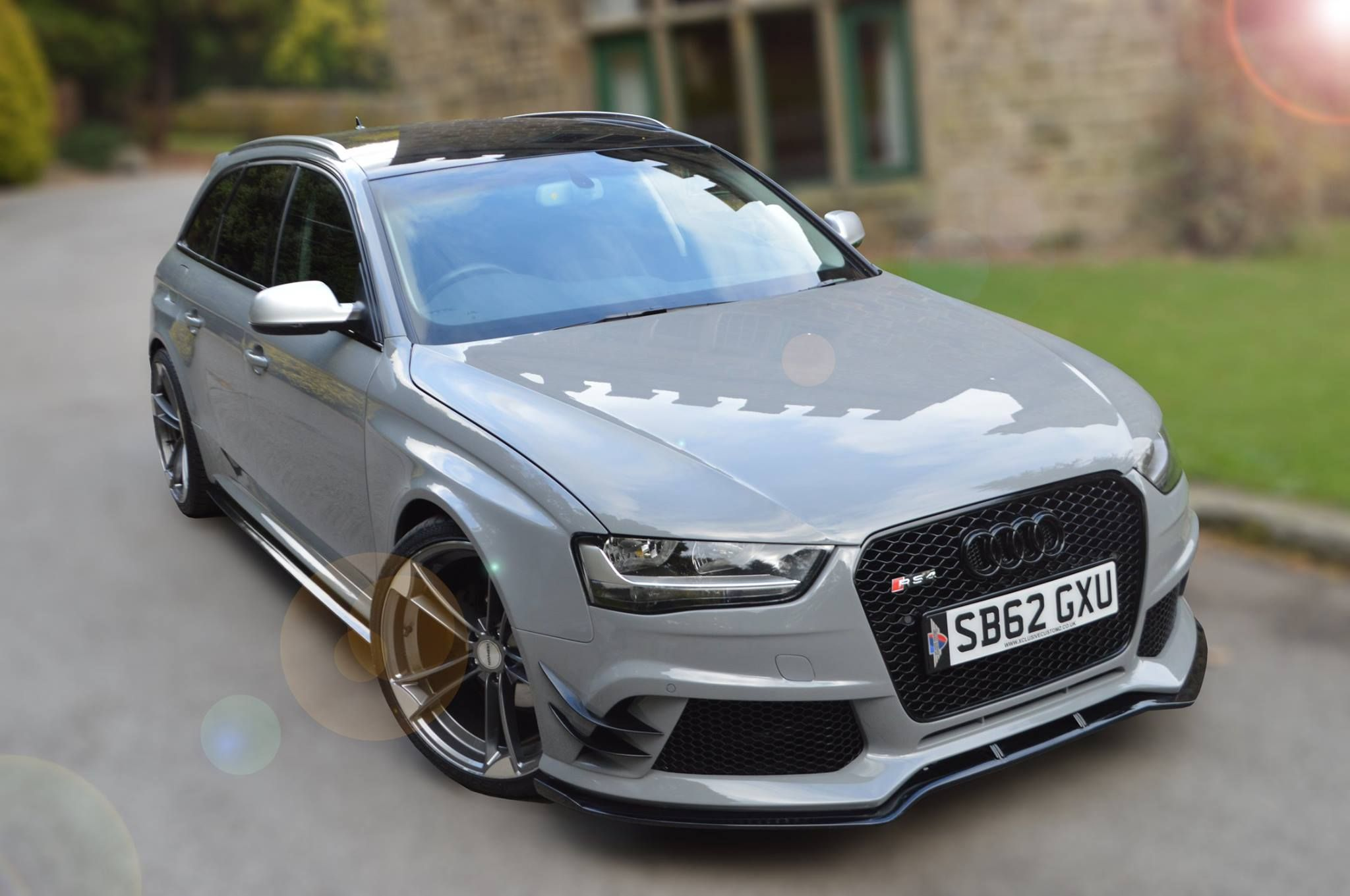 small resolution of the audi a4 rs4 estate body kit by xclusive customz sheffield