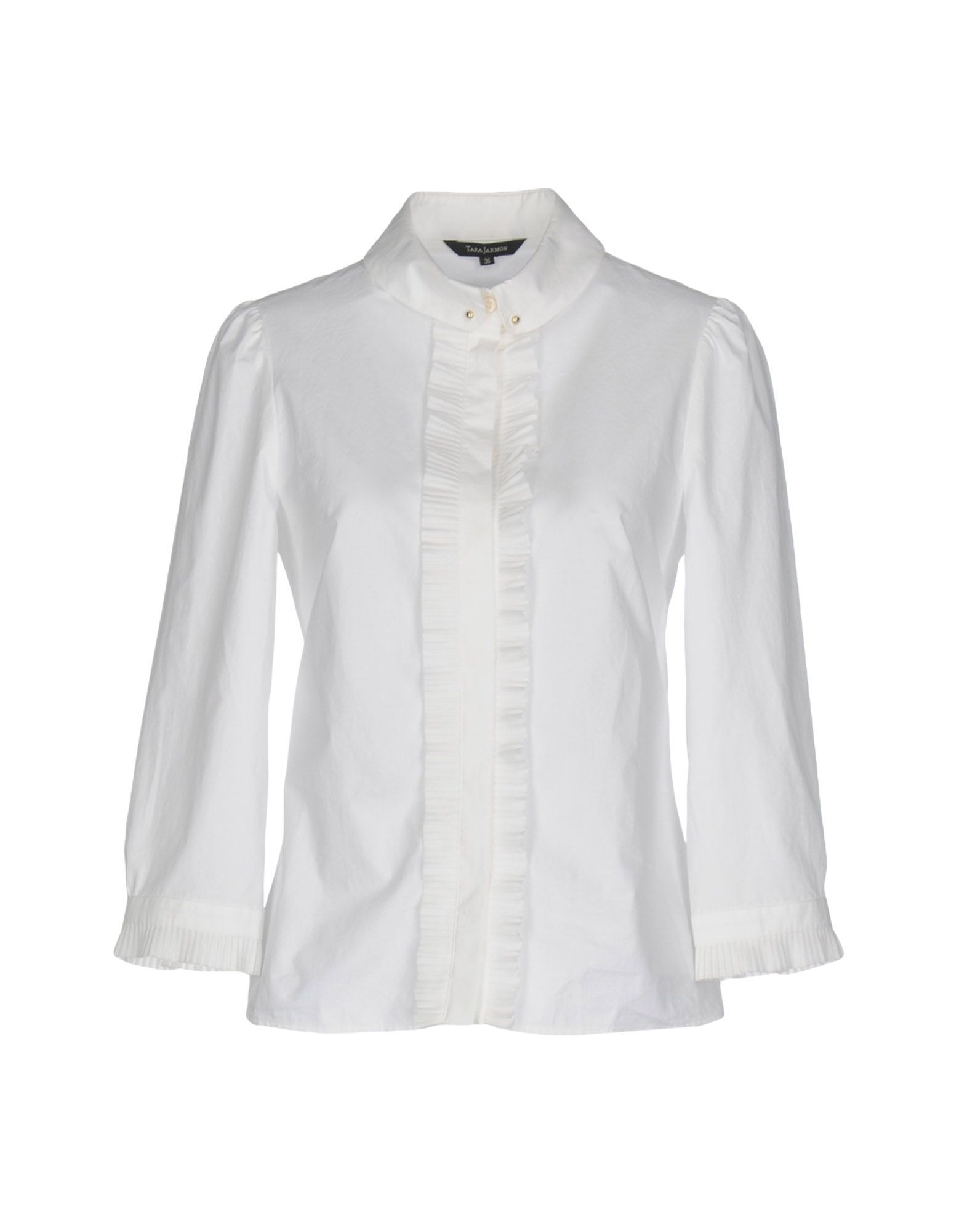 Tara Jarmon Women Solid Color Shirts & Blouses on YOOX. The best online  selection of Solid Color Shirts & Blouses Tara Jarmon.