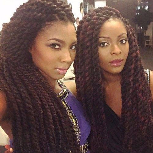 Afroshista Comment Faire Des Jumbo Marley Twist Hair Pinterest Coiffures Tresses Et