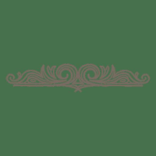 Decorative Swirls Divider Ad Affiliate Paid Divider Swirls Decorative Bullet Journal Dividers Swirls Valentine Clipart