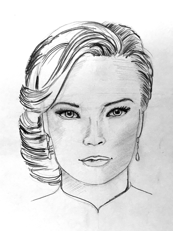 Pencil Drawing (Bleistiftzeichnung)