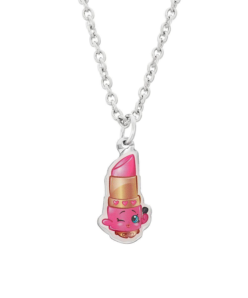 Shopkins lippy lips pendant u chain chains lips and pendants