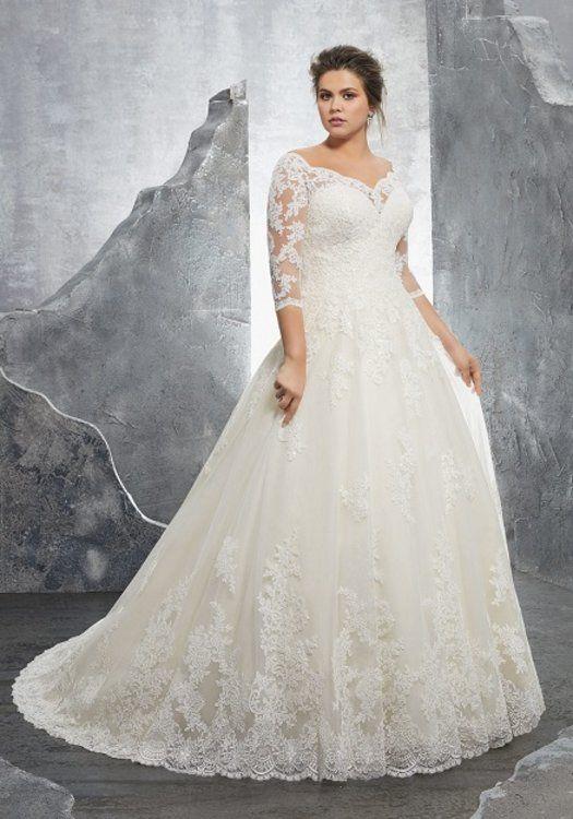 Brautkleider in großen Größen – Wundervolle Brautmode für Frauen mit ...