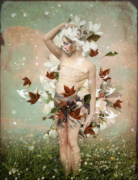 'Little Snowflake' von Catrin Welz-Stein bei artflakes.com als Poster oder Kunstdruck