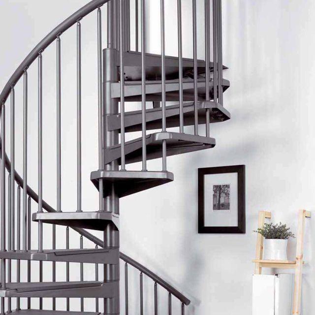 Escalier Magia 50 Gris Fonte Castorama Escalier Escalier En