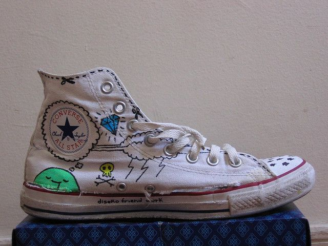 converse decorate