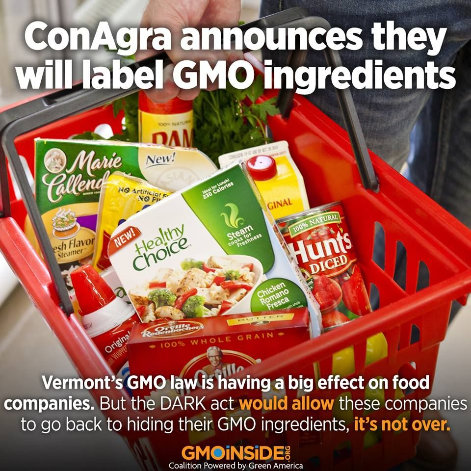 ConAgra Going Nationwide With GMO Labeling
