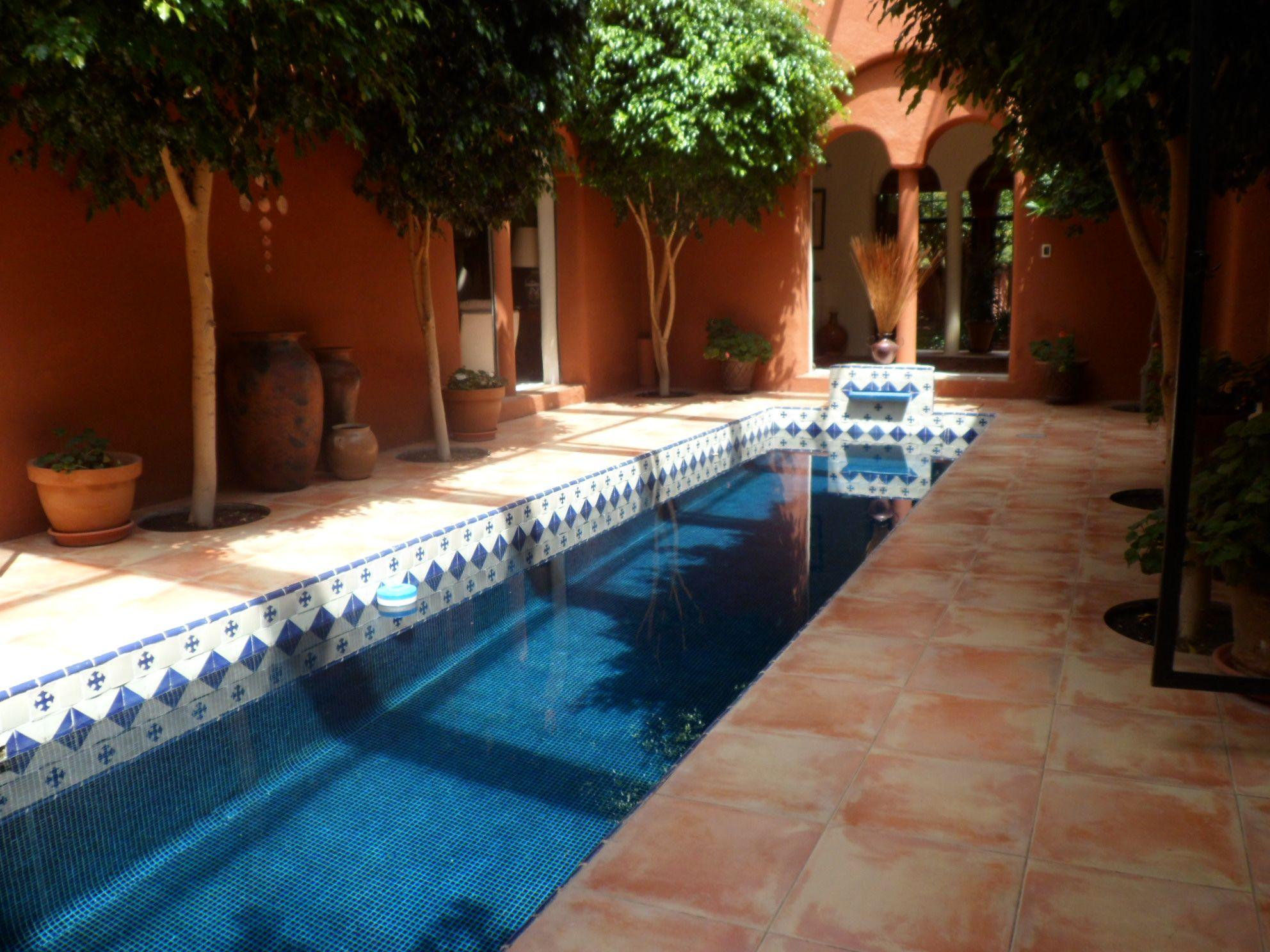 Carril de nado piscinas pinterest piscinas albercas for Construccion de piscinas en monterrey