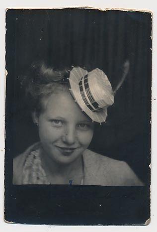 girl Vintage tiny teen