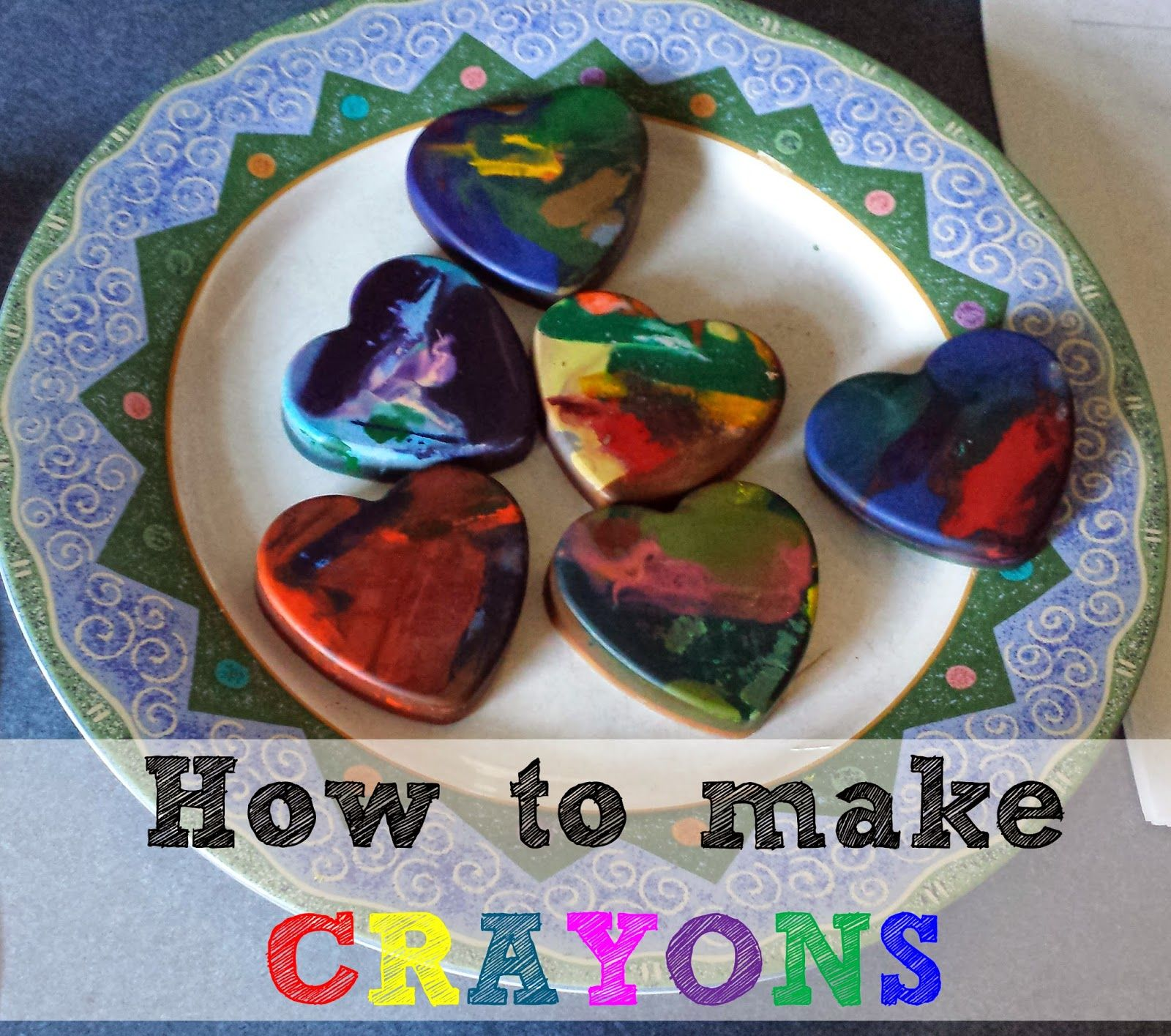 Give those broken crayons new life. Creating fun shapes with your broken crayons is easier than you think!
