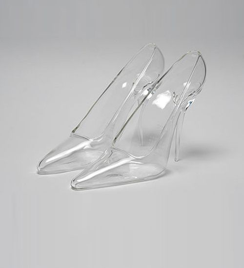 Cinderella shoes by Christian Louboutin. would prefer it with not so high heels!