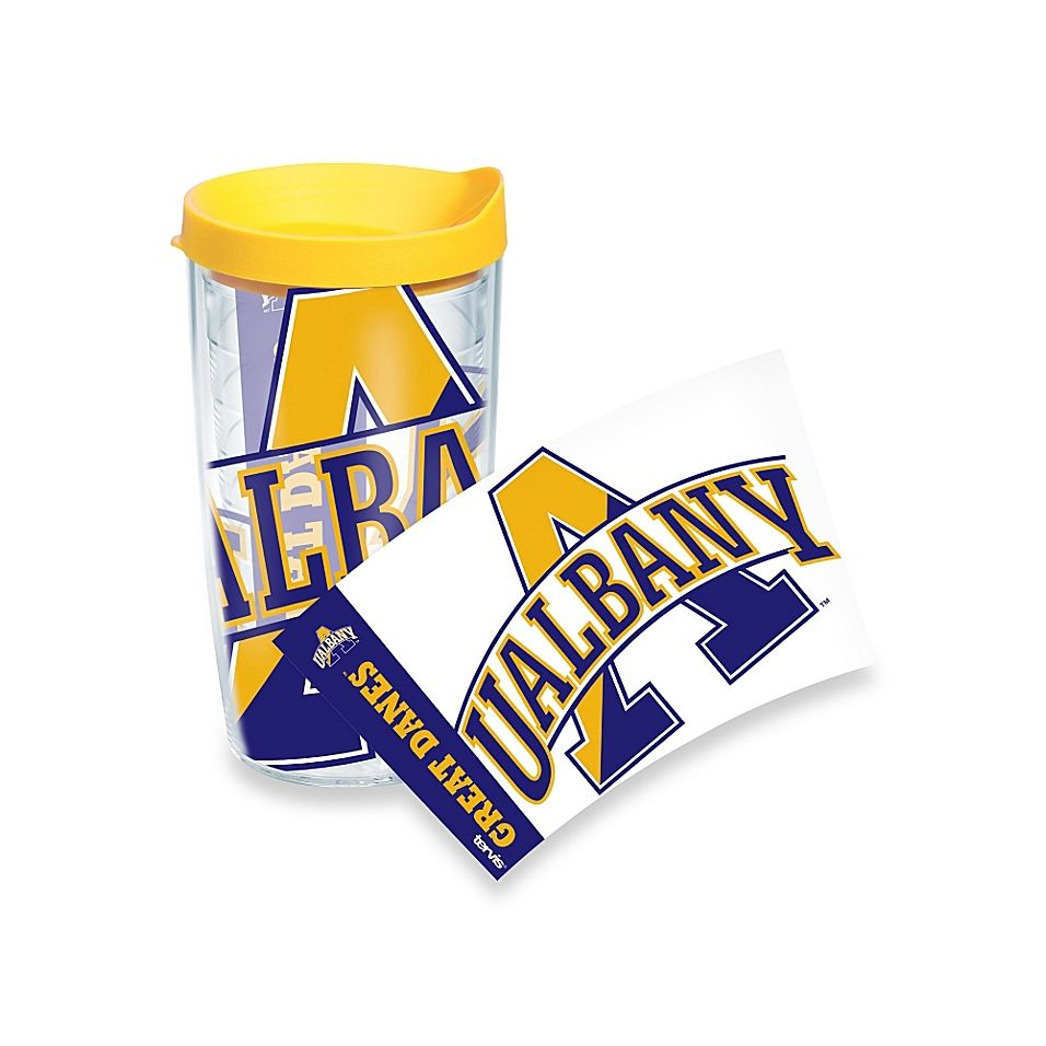 Tervis University Of Albany Great Danes 16 Ounce Wrap Tumbler With