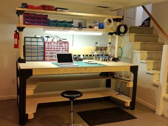 large image garage in 2018 pinterest workbench plans