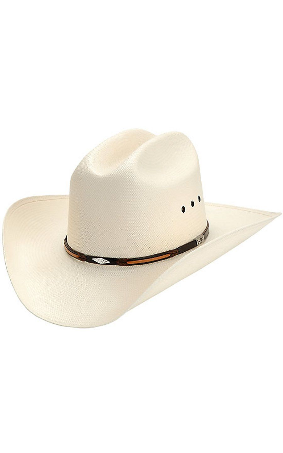 Resistol 10X George Strait Lookout Straw Cowboy Hat  43e21f57039