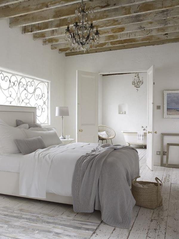 Conception de mur pour la chambre à coucher en blanc | CHAMBRE ...