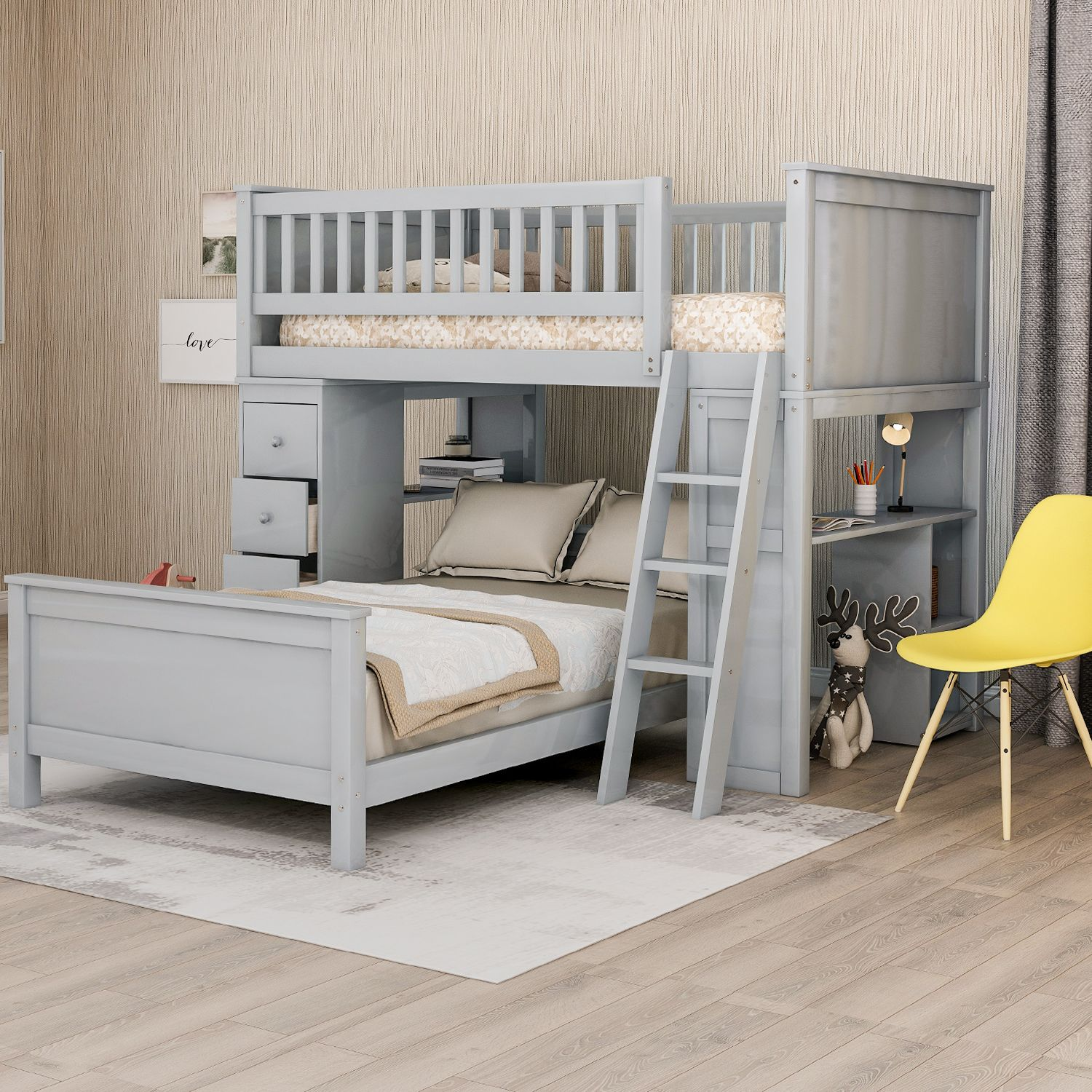 Home In 2020 Twin Bunk Beds Bed Sizes Bed Dimensions