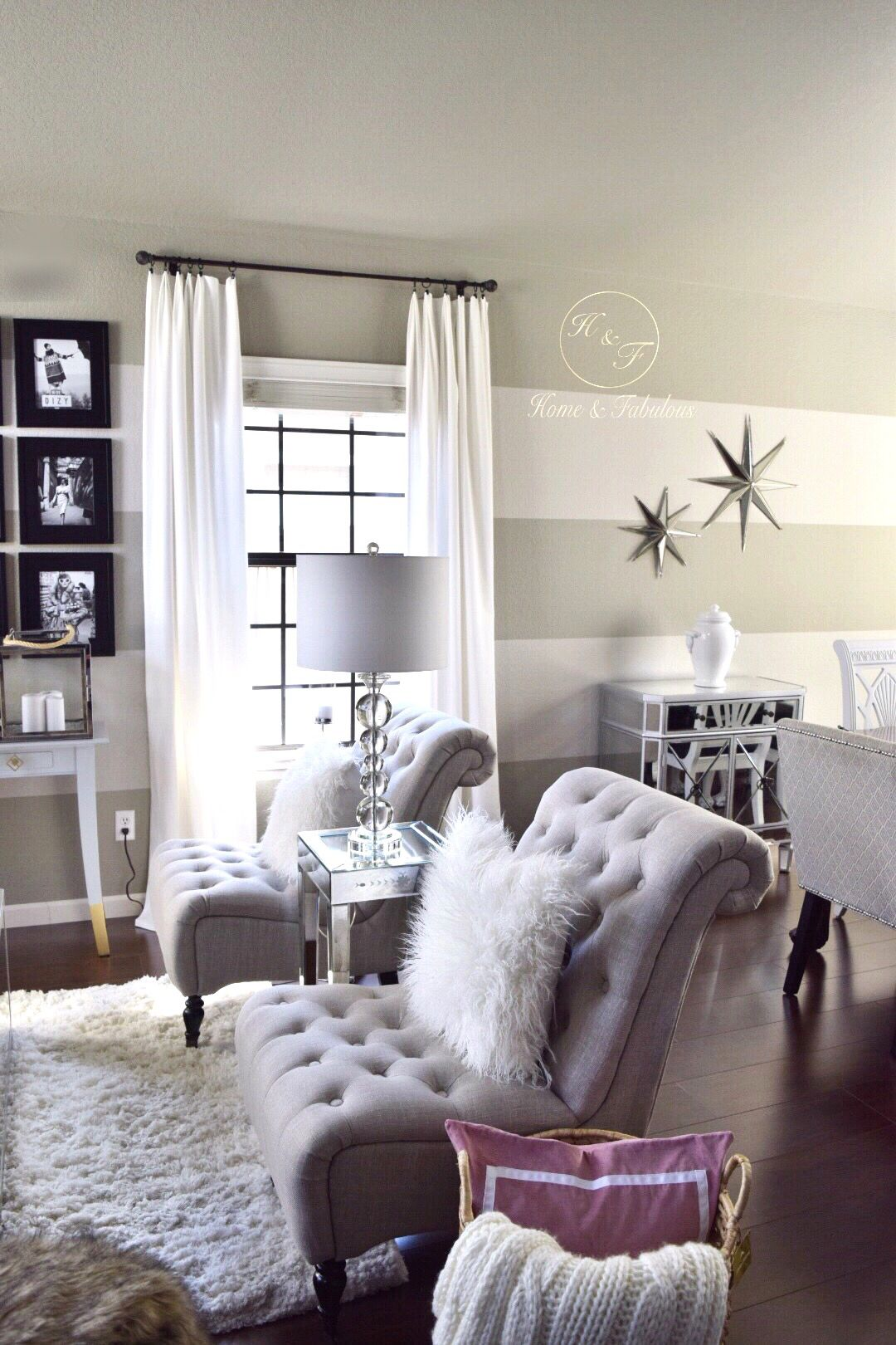 Home and Fabulous | Silver stars, Accent pieces and Star