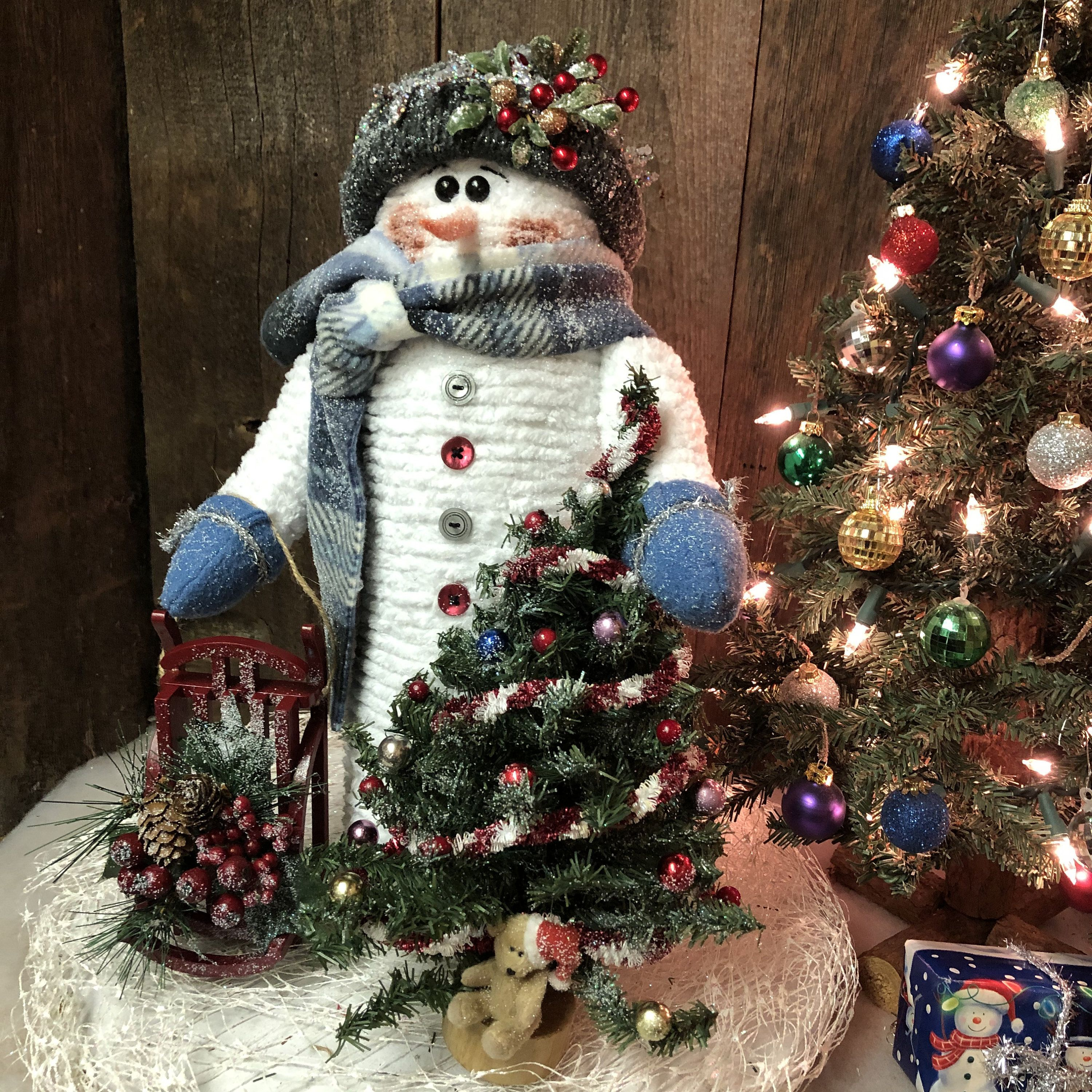 Reserved For Alice Wilson Christmas Snowman Snowman Decor Christmas Decoration Christmas Decor Christmas Tab Snowman Decorations Christmas Crafts Crafts