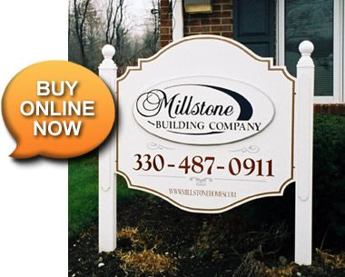 Easy Post Systems - sign installs with no digging required.  Buy online now!
