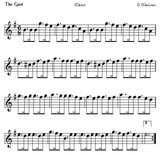 The Gael A K A Theme From The Last Of The Mohican Ckaliban S