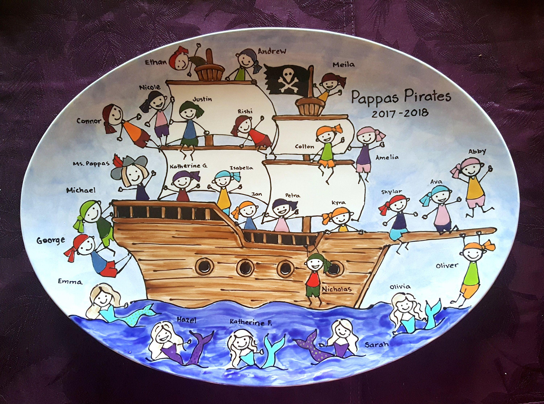 Gift for Teacher, School Auction or fundraiser, Keepsake ceramic ...