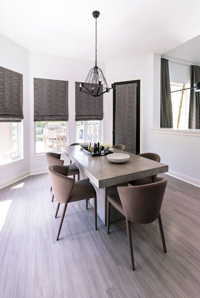 Good We Love The Simple Lines And Beautiful Color Scheme Of This Dining Room  Designed By Contour Interior Design