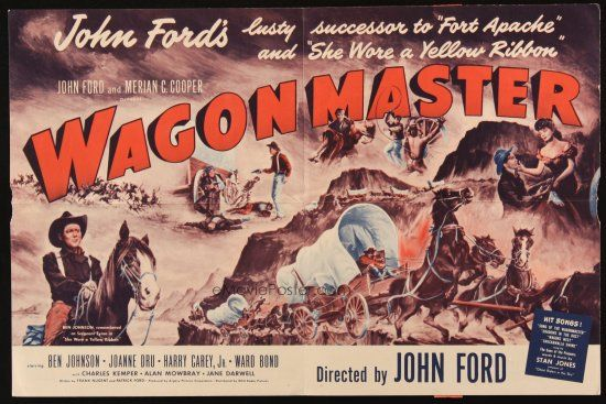 WAGON MASTER (1950 promo brochure) John Ford, Ben Johnson (With ...