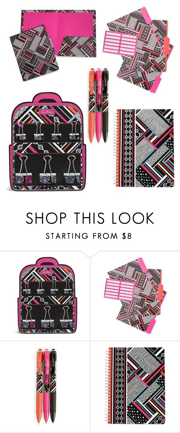 Vera Bradley Northern Stripes Office Supplies By Theblissfulone Liked On Polyvore Featuring Interior