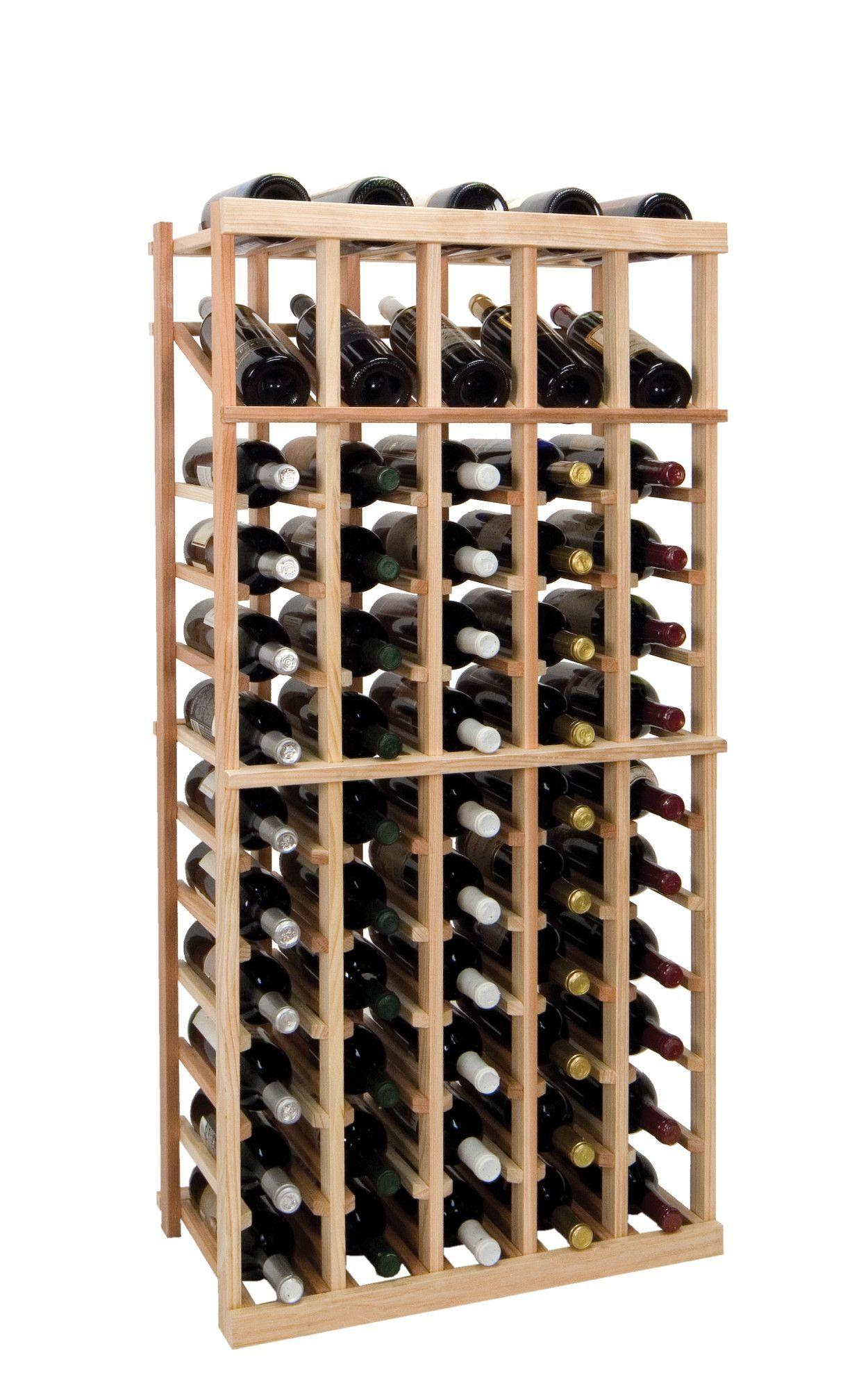 Vintner Series 60 Bottle Floor Wine Rack