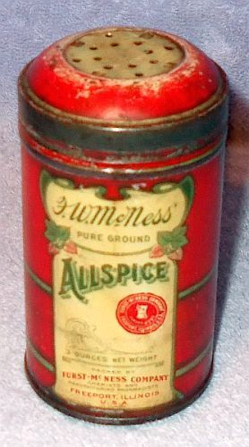 Old Sets Canister Tin