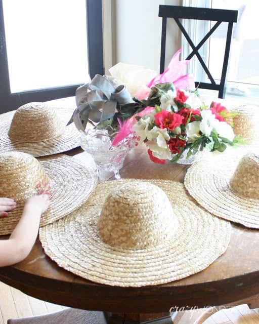 Crazy Wonderful Tea Party Decorate Hats Birthday Ideas Tea