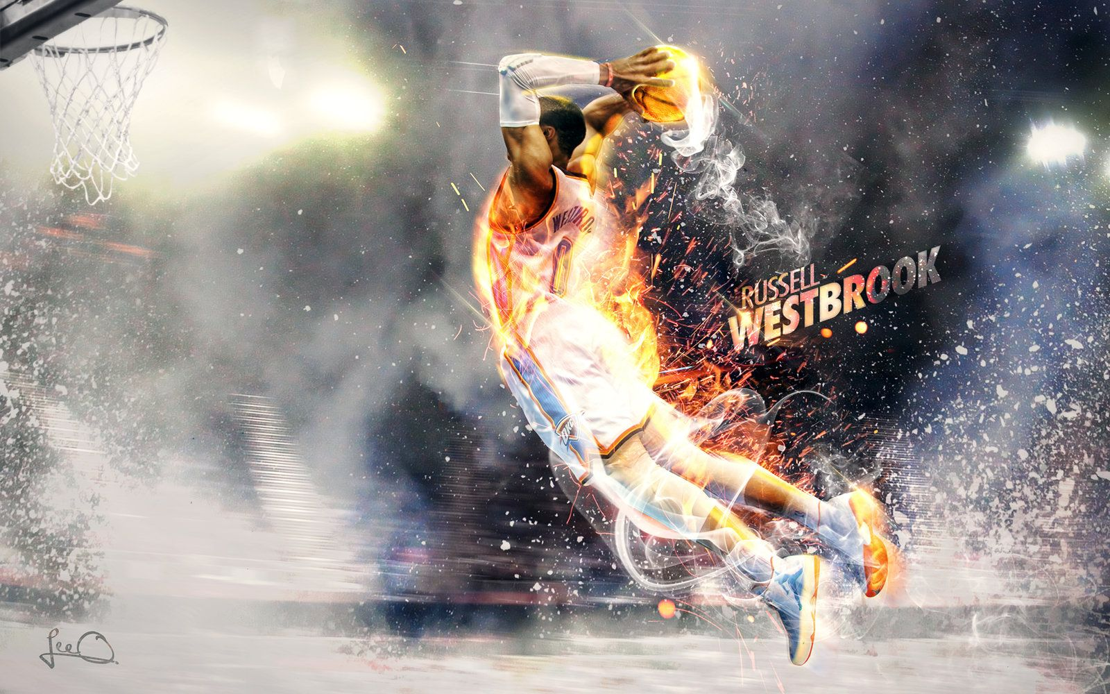 russell westbrook art Russell Westbrook Wallpaper 2.0 by