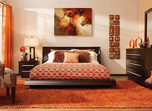 This Wall Street 4-piece king platform bedroom set exudes ...