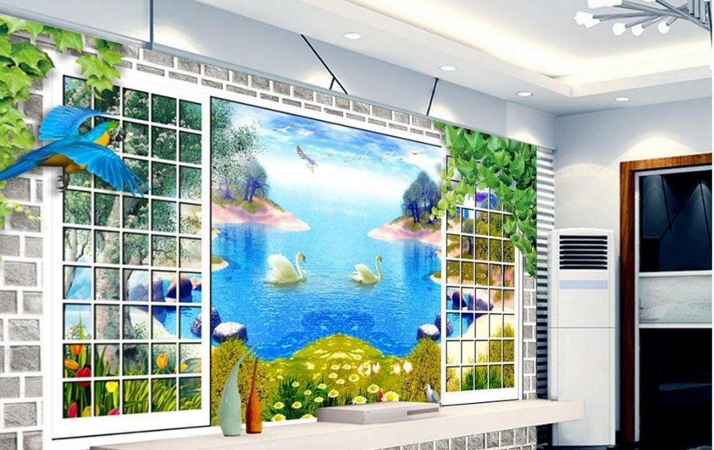 Menakjubkan 30 Gambar Lukisan 3 Dimensi Pemandangan Us 12