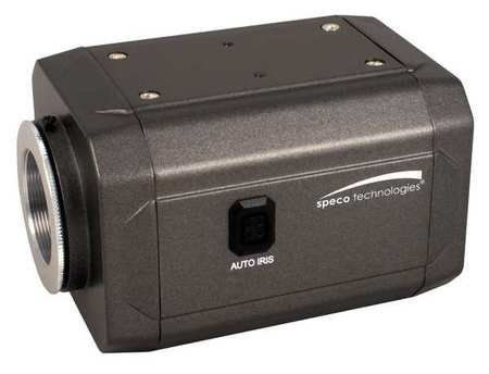 SPECO TECHNOLOGIES HT-INTT5-V2 Weatherproof Box Camera by Speco. $417.21. Weatherproof Box Camera, Intensifier3(TM) Series, Lens Not Included, Will Work With Both C and CS Type Lenses Lens, Voltage 12VDC/24VAC, Length (In.) 4, Width (In.) 2-1/2Height (In.) 2-1/5Min. Light Level (Lux) 0.00002, Line Resolution 650, Power Supply Not Included, Use 6LU84, Power Consumption 100mAWall or Ceiling Mount, S/N Ratio (dB) More than 52dB, 2:1 Interlace Scanning, 811(H) x 508(V) Pi...