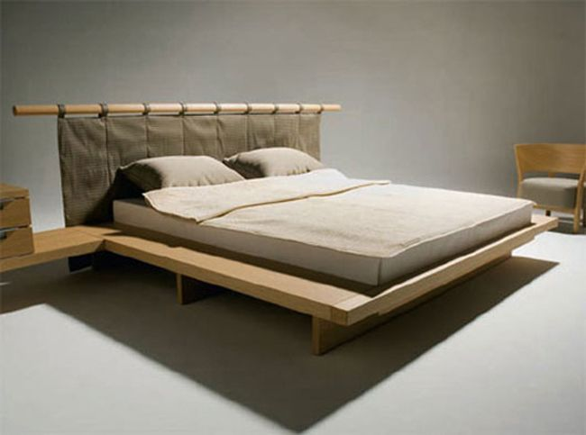 Modern Japanese Wood Bed Furniture By Peter Maly From Condehouse