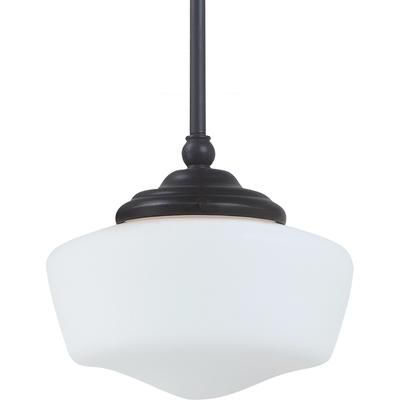 schoolhouse inspired pendant sea gull lighting home depot canada