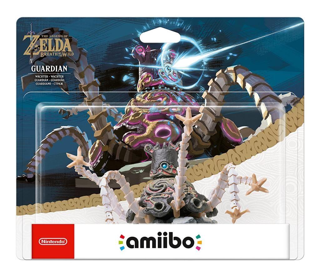 Amiibo Guardian The Legend Of Zelda Collection Wii U Switch