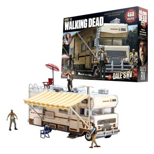 The Walking Dead Dale S Rv Construction Set The Walking Dead Construction Sets The Walking Dead Tv