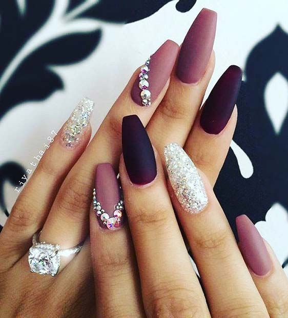 32 Eye Catching Nail Design Ideas Perfect For Four Season #nails #nailart #nailpolish #naildesigns #nailartdesigns #nailartaddict #summernails #nailsarcylic #winternails #springnails autumnnails - Millions Grace