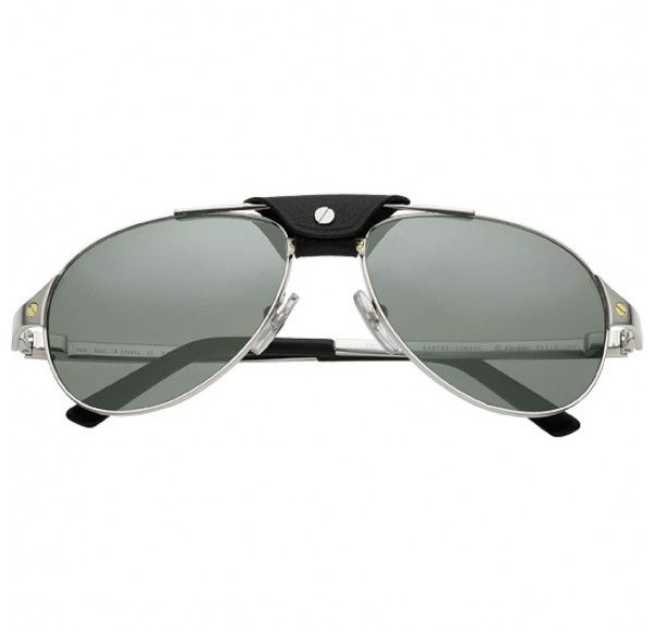 Cartier Santos Dumont Sunglasses available @metro_optics in the BX!