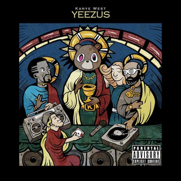 Kanye West Community Contest Koesnoel80 This Is A Hip Hop Themed Rendition Of The Famous Last Supper In The New Album Kanye Is A Self Proclaimed God Of H