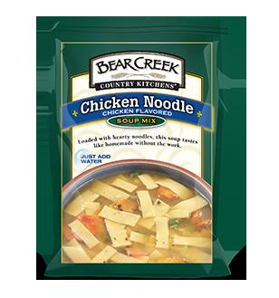 Chicken Noodle Soup. This classic Bear Creek® soup is