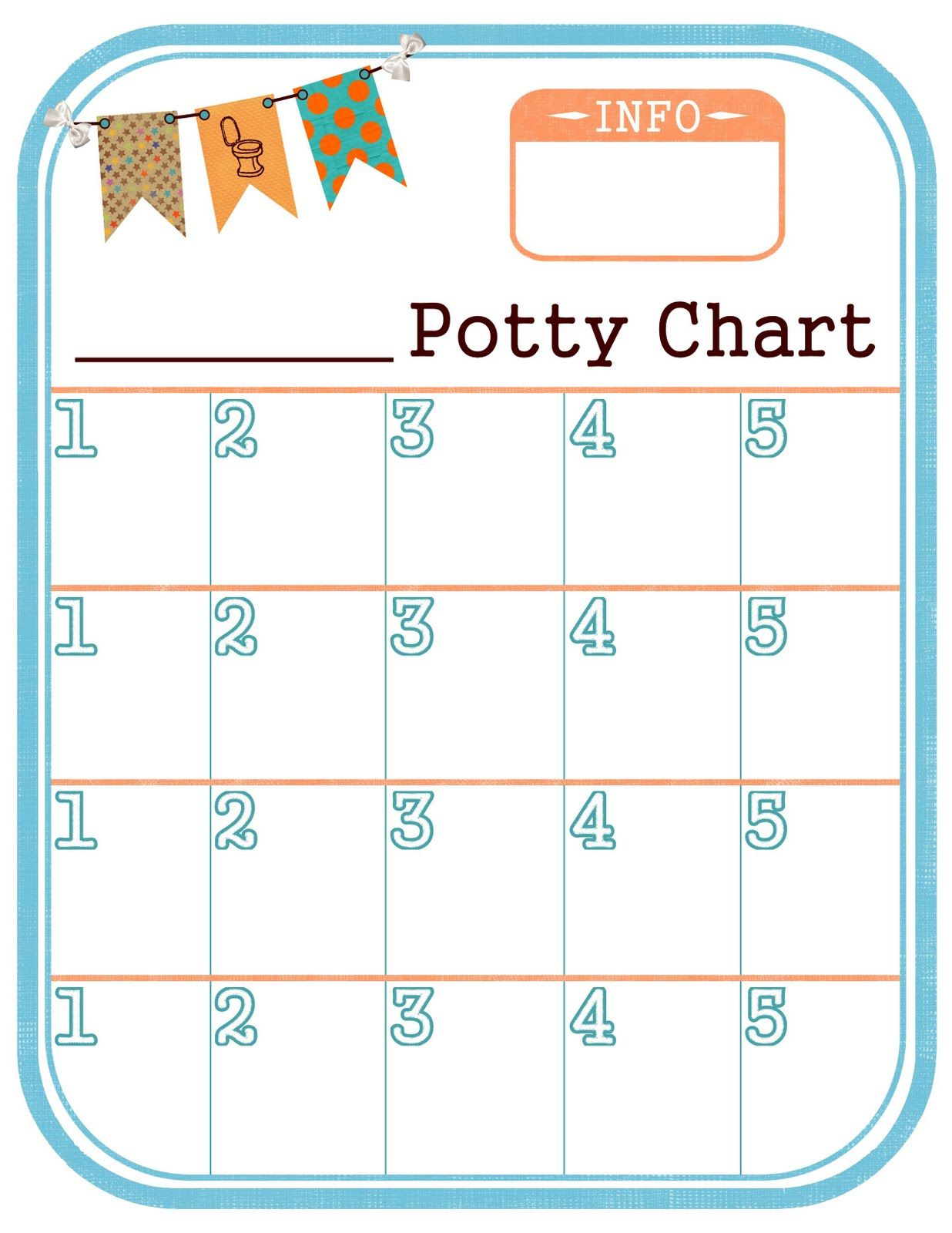 This potty chart is so cute printing it out right now for ezra