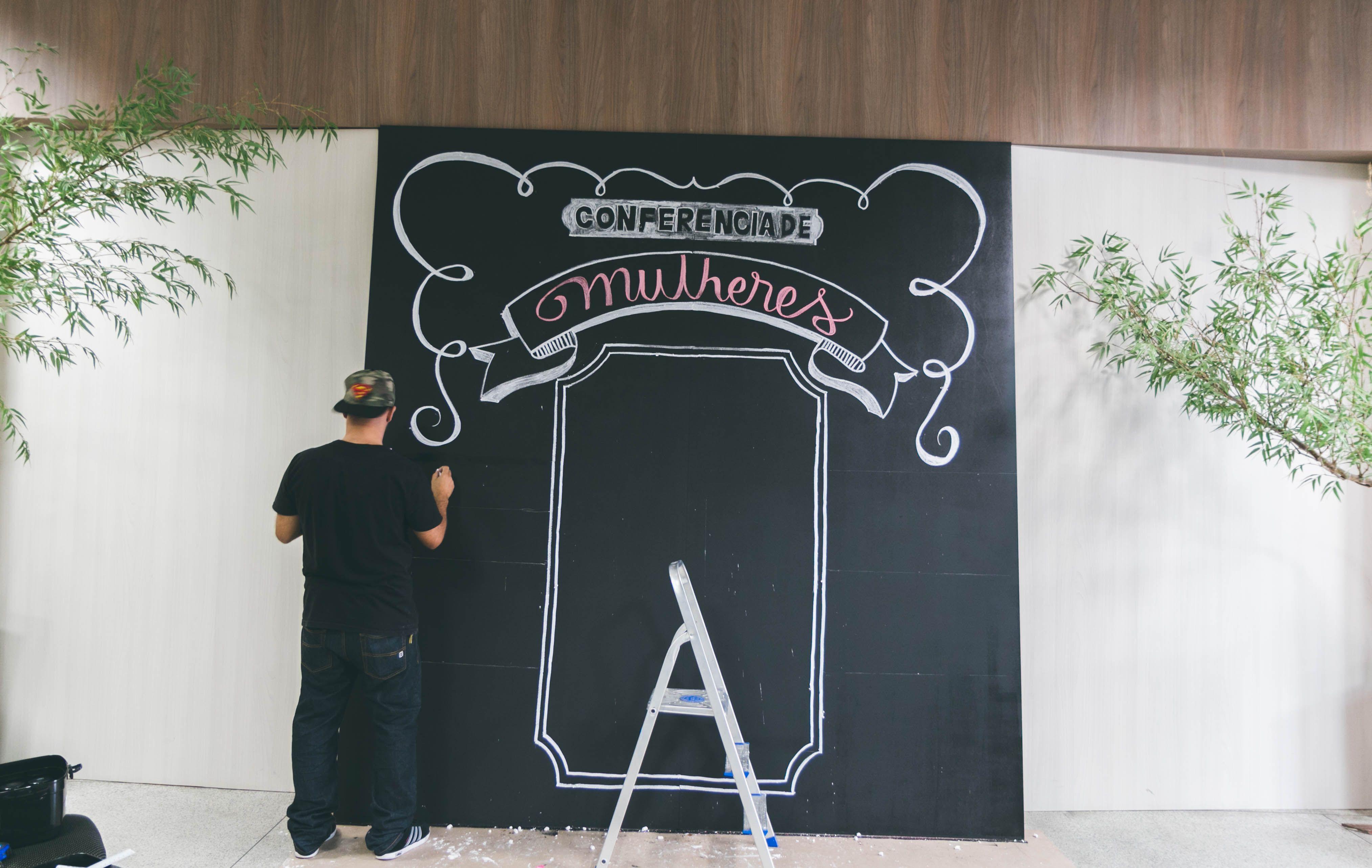#chalkboard #artecomgiz #boygiz #tamiresaraujofotografia #ievvguarulhos #igrejaverbodavida