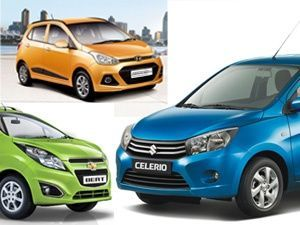 Maruti Suzuki Celerio Diesel Vs Chevrolet Beat Vs Hyundai Grand